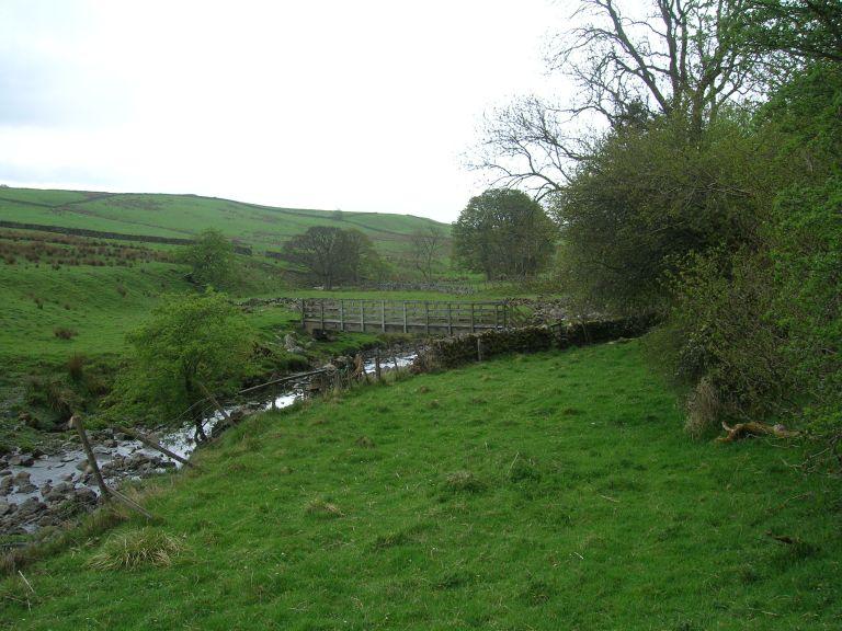 Isaac 20.21 footbridge across Ayle Burn
