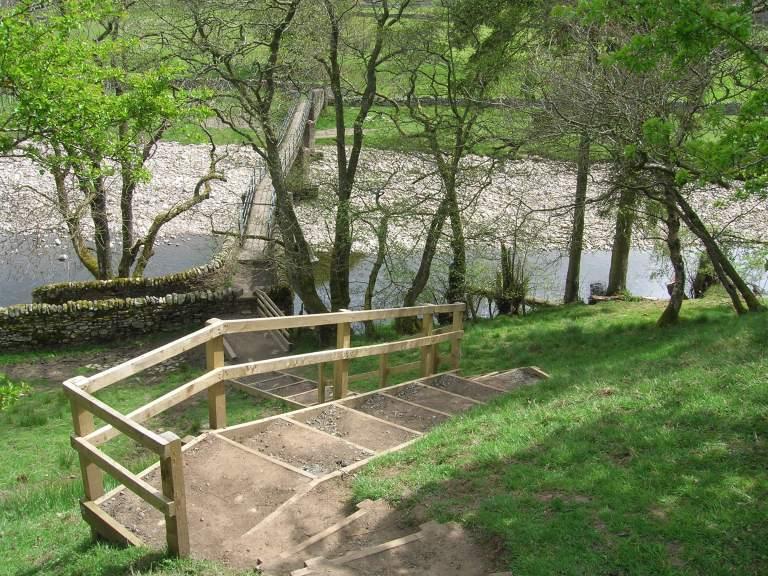 Isaac 20.6 Kirkhaugh footbridge