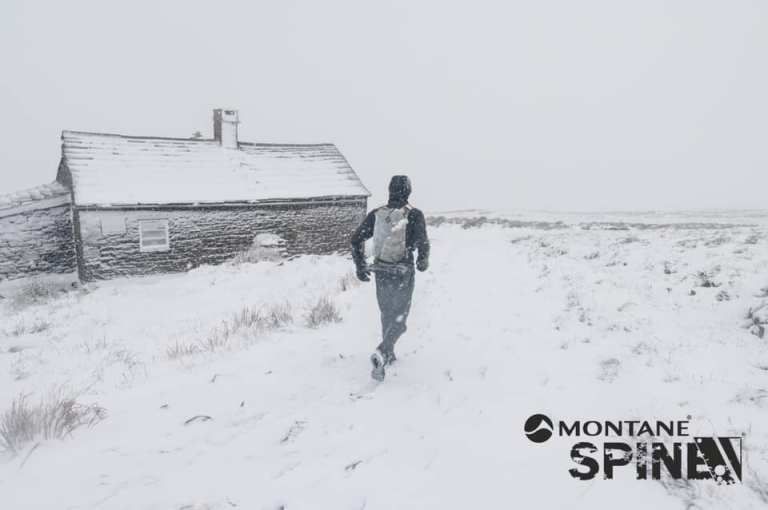 spine race snow